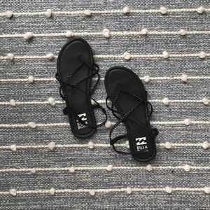 Billabong black sandals